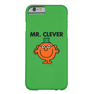 Coque iPhone 6 Barely There M. classique Clever Logo