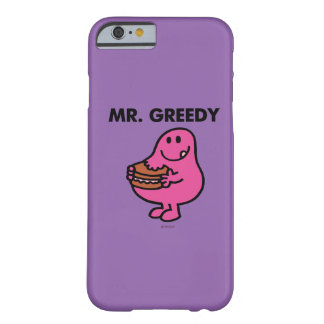 Coque iPhone 6 Barely There M. Greedy Eating Cake