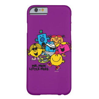 Coque iPhone 6 Barely There M. Men Little Mlle Group