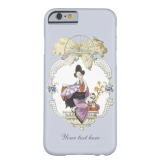 Coque iPhone 6 Barely There Madame Fan et chien