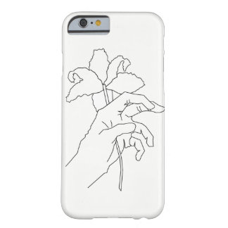 Coque iPhone 6 Barely There Mains de fleur