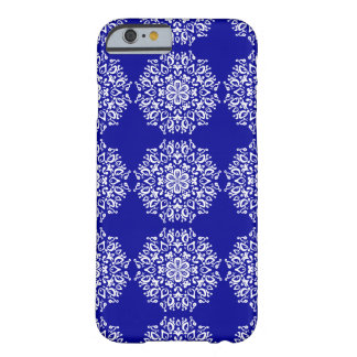 Coque iPhone 6 Barely There Mandala de saphir