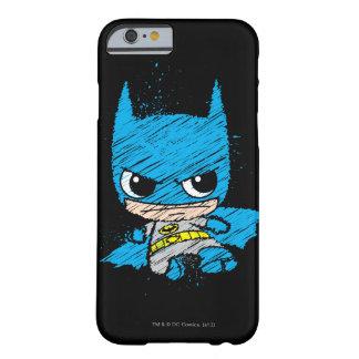 Coque iPhone 6 Barely There Mini croquis de Batman