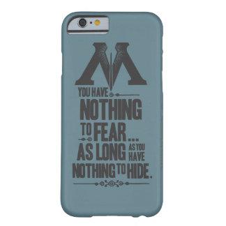 Coque iPhone 6 Barely There Ministère du charme | de Harry Potter de la