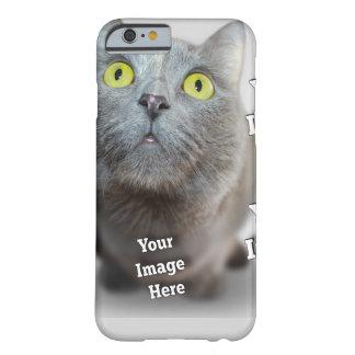 Coque iPhone 6 Barely There Modèle d'image d'animal familier de famille