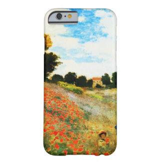 Coque iPhone 6 Barely There Monet-Pavots de Claude à Argenteuil