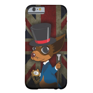 Coque iPhone 6 Barely There Monsieur