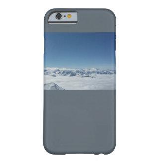 Coque iPhone 6 Barely There Montagnes de gris de téléphone de l'affaire I