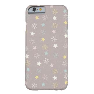 Coque iPhone 6 Barely There Motif de débuts de flocons de neige - cadeaux de