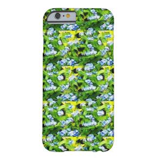 Coque iPhone 6 Barely There Motif de fleur vert