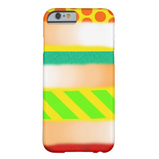 Coque iPhone 6 Barely There Motif mélangé coloré