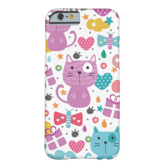 Coque iPhone 6 Barely There Motif mignon de chats