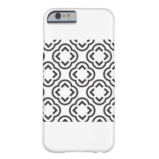 Coque iPhone 6 Barely There Motif noir et blanc