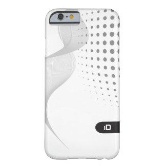 Coque iPhone 6 Barely There Motif noir et blanc de la VAGUE | avec des