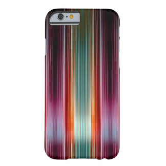 Coque iPhone 6 Barely There Motif rayé pourpre et vert