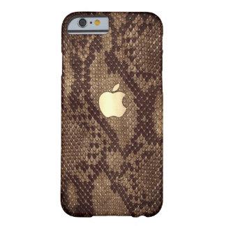 Coque iPhone 6 Barely There Naturellement cas de style de peau de serpent