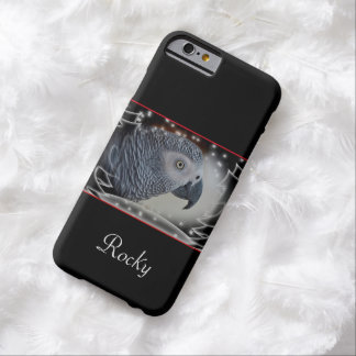 Coque iPhone 6 Barely There Noël de Milou de gris africain