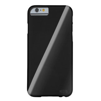 "Coque iPhone 6 Barely There noir Heevs™ ""de triangle simple"" de cas de"