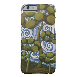 Coque iPhone 6 Barely There Oiseaux dans les arbres