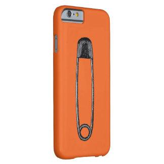 Coque iPhone 6 Barely There Orange de sécurité je téléphone le cas