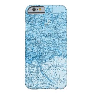 Coque iPhone 6 Barely There Oriental - caisse bleue européenne de téléphone de