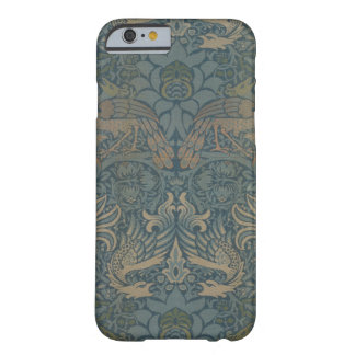 Coque iPhone 6 Barely There Paon et dragon GalleryHD de William Morris