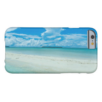 Coque iPhone 6 Barely There Paysage marin tropical bleu, Palaos