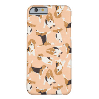 Coque iPhone 6 Barely There pêche de dispersion de beagle
