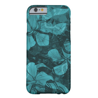Coque iPhone 6 Barely There Peinture hawaïenne de roche de lave de ketmie de