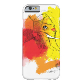 Coque iPhone 6 Barely There peintures de Ganesha d'abtract