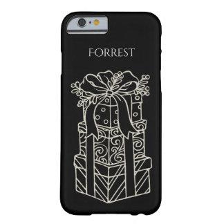 Coque iPhone 6 Barely There Personnalisez :  Les cadeaux de Noël ont empilé la