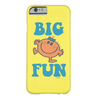 Coque iPhone 6 Barely There Petit grand amusement de Mlle Fun |