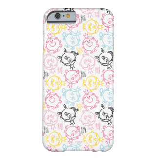 Coque iPhone 6 Barely There Petit joli motif de pastels de Mlle le princesse |