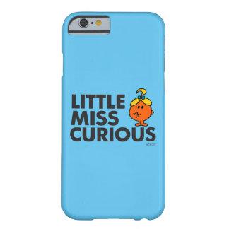 Coque iPhone 6 Barely There Petit lettrage noir de Mlle Curious |