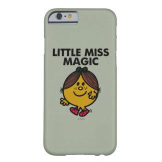Coque iPhone 6 Barely There Petit lettrage noir de Mlle Magic |