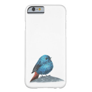 Coque iPhone 6 Barely There Petit oiseau bleu