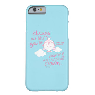 Coque iPhone 6 Barely There Petite couronne invisible de Mlle le princesse |