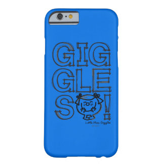 Coque iPhone 6 Barely There Petite Mlle Giggles Sketch