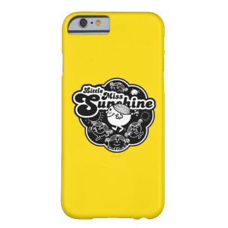 Coque iPhone 6 Barely There Petite Mlle Sunshine | noir et blanc