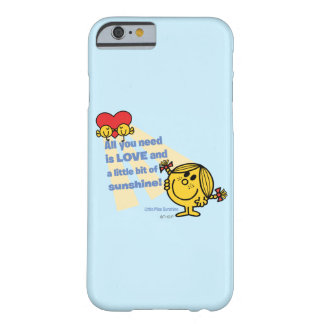 Coque iPhone 6 Barely There Petite Mlle Sunshine | tout que vous avez besoin