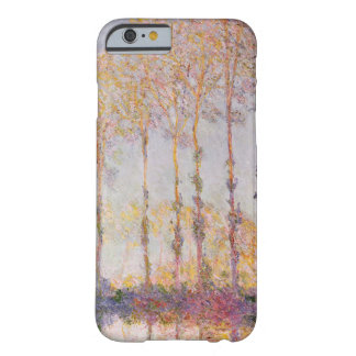 Coque iPhone 6 Barely There Peupliers de Claude Monet | sur les banques de