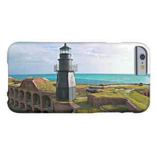 Coque iPhone 6 Barely There Phare principal de jardin, Tortugas sec la Floride