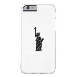Coque iPhone 6 Barely There photo de statue de liberté sur le cas