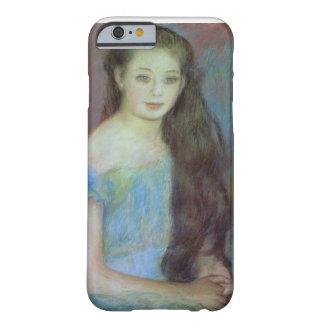 Coque iPhone 6 Barely There Pierre une jeune fille de Renoir | avec des yeux