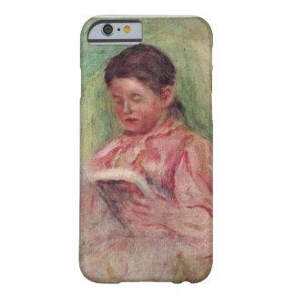 Coque iPhone 6 Barely There Pierre une lecture de femme de Renoir |