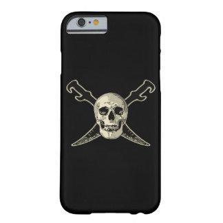 Coque iPhone 6 Barely There Pirate (crâne) - iPhone 6/6s, à peine là 