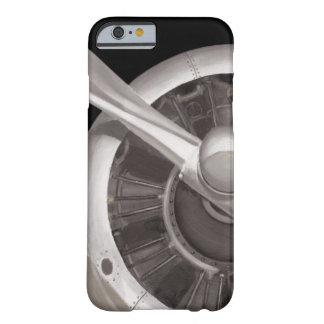 Coque iPhone 6 Barely There Plan rapproché de propulseur d'avion