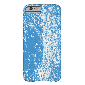 Coque iPhone 6 Barely There points bleus