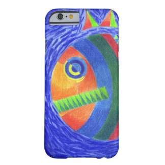 Coque iPhone 6 Barely There poissons bleus