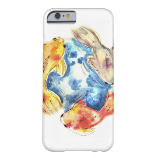 Coque iPhone 6 Barely There Poissons d'aquarelle de Koi